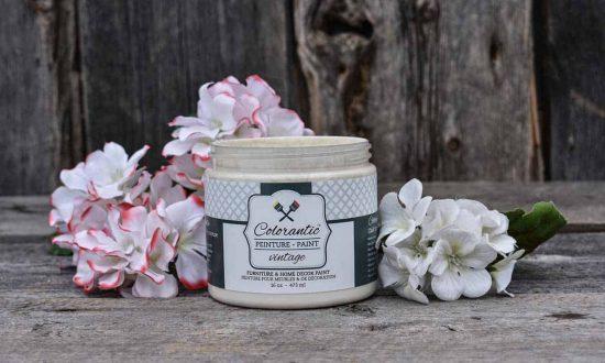 Peinture à la craie crème vintage - Chalk-Based Paint vintage cream 16 oz | Peinture à la craie Colorantic | Chalk-Based Paint Colorantic