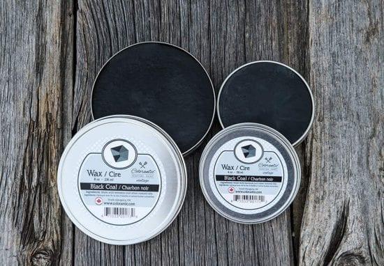 Cire Colorantic Charbon noir - Colorantic Wax Black Coal | Peinture à la craie Colorantic | Chalk-Based Paint Colorantic