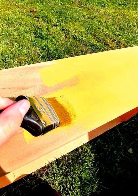 Rénovation de meuble en bois - Renovation of wooden furniture   Peinture à la craie Colorantic   Chalk-Based Paint Colorantic
