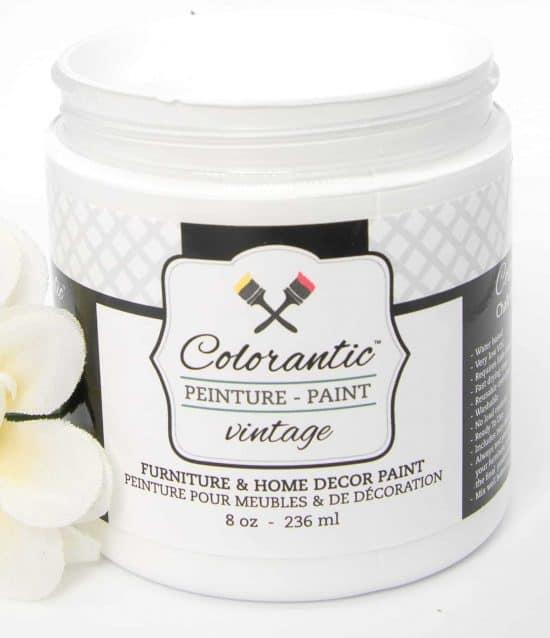 White Cloud Glaze paint