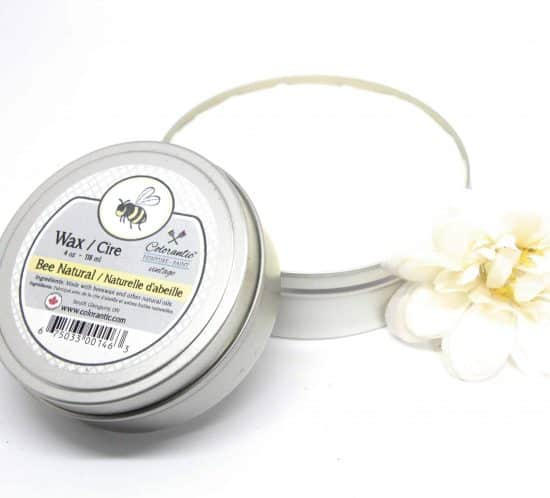Natural (Clear) beeswax furniture polish