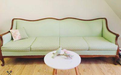 Comment j'ai peint mon sofa avec les produits Colorantic