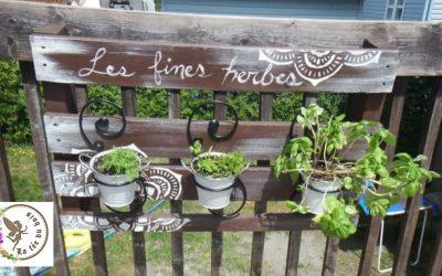 Fabriquer un support extérieur pour fines herbes
