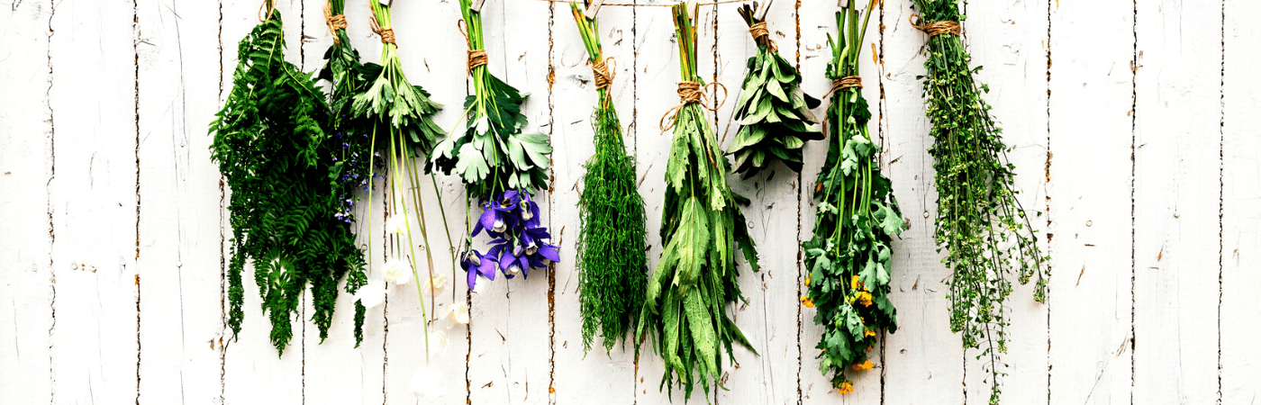 DIY outdoor herb holder by 'The Wood Fairy'