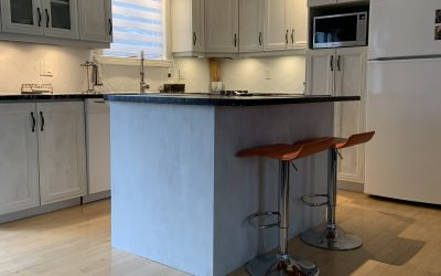 How to paint kitchen cabinets with Colorantic