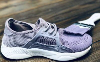 Peinturer des souliers en tissu avec Colorantic, c'est possible!