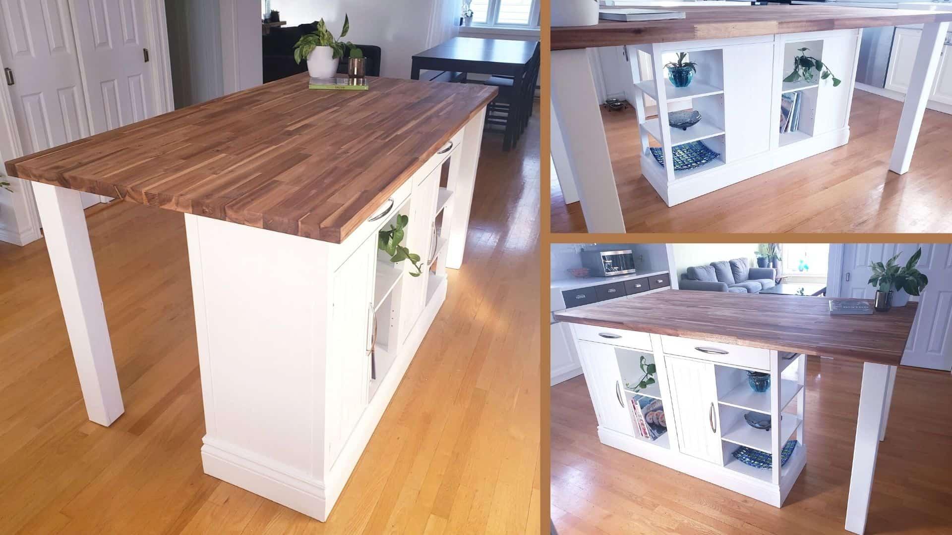 kitchen island creation
