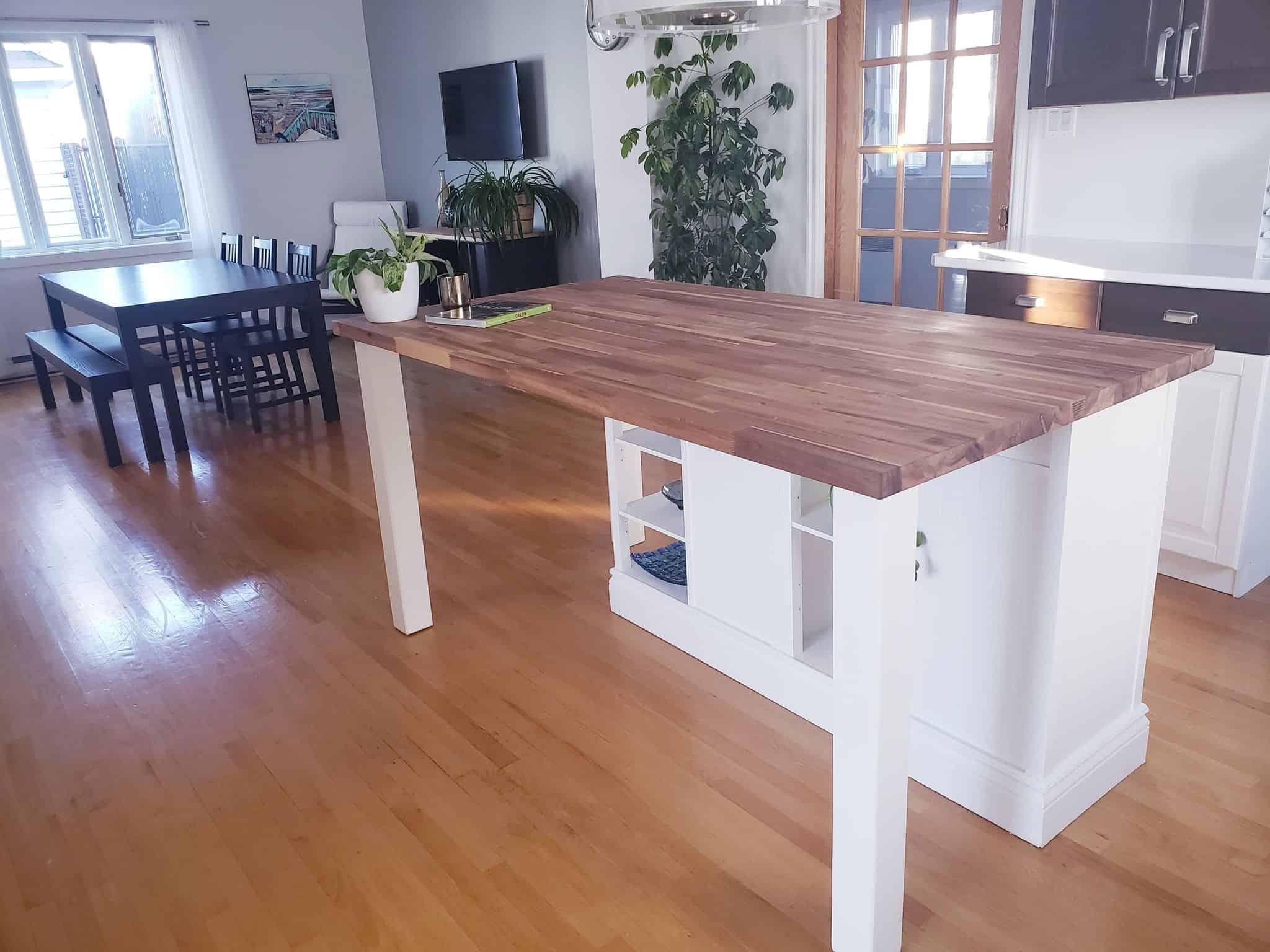 Creating a kitchen island
