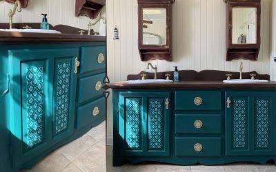 Revaloriser votre vanité de salle de bain à peu de frais