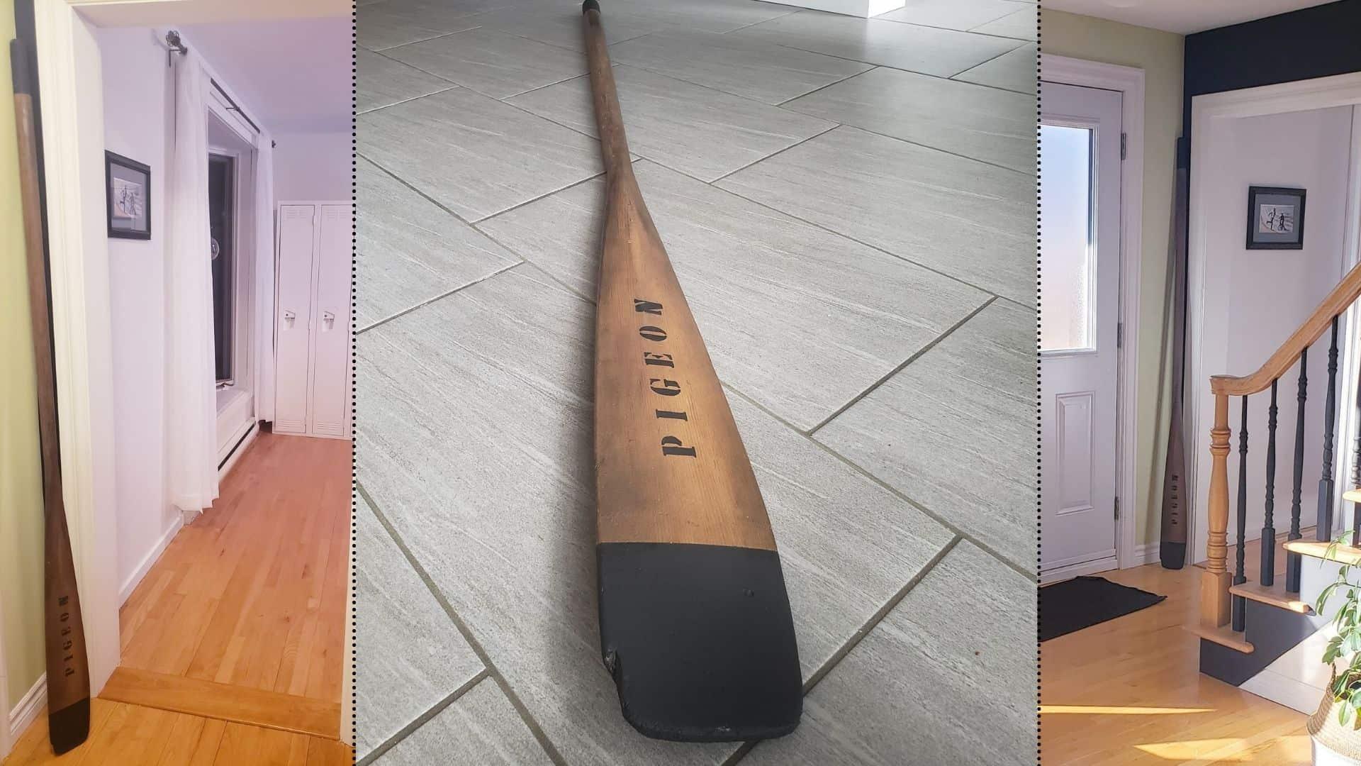 Paint a paddle
