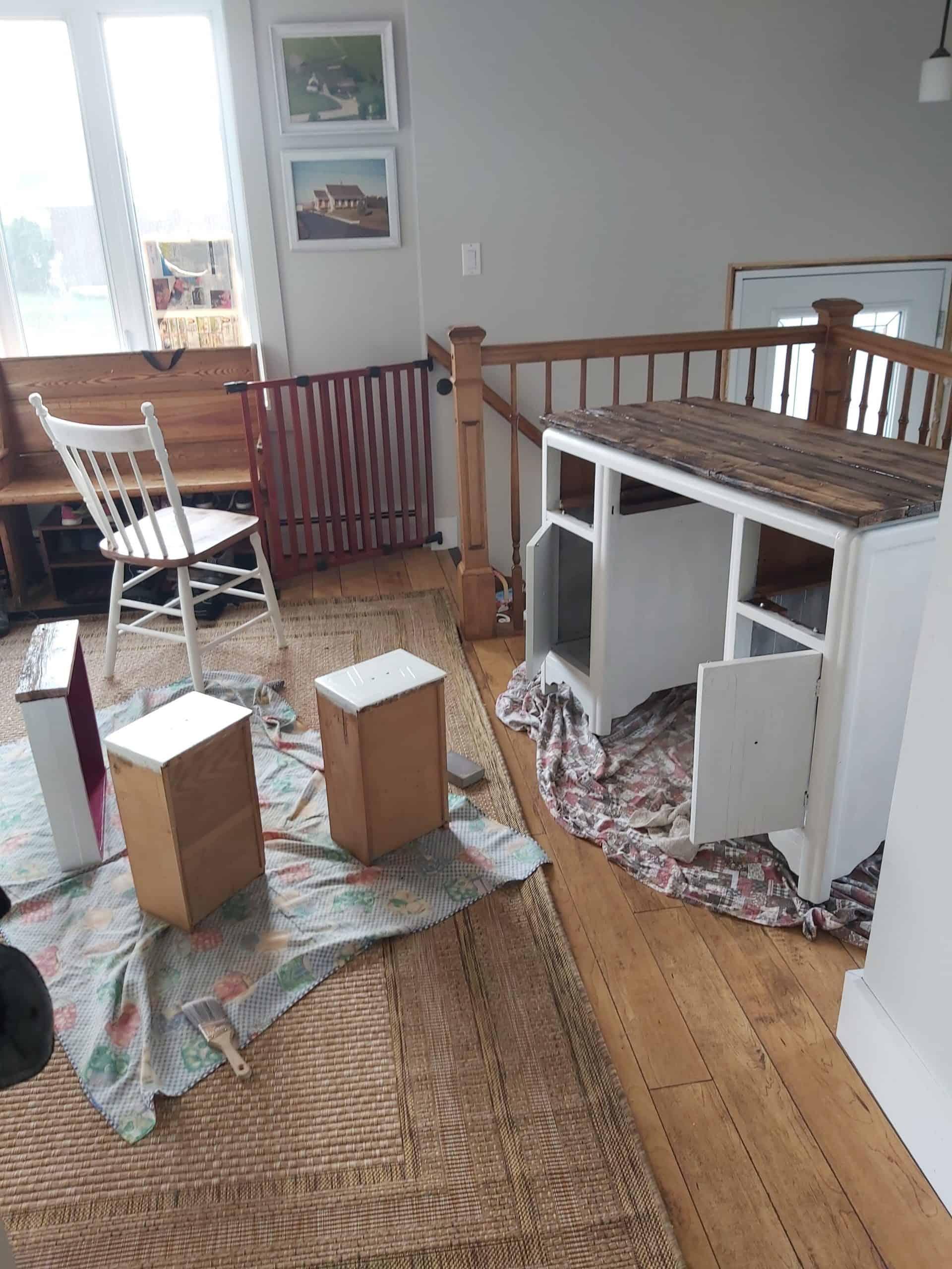 farmhouse work desk