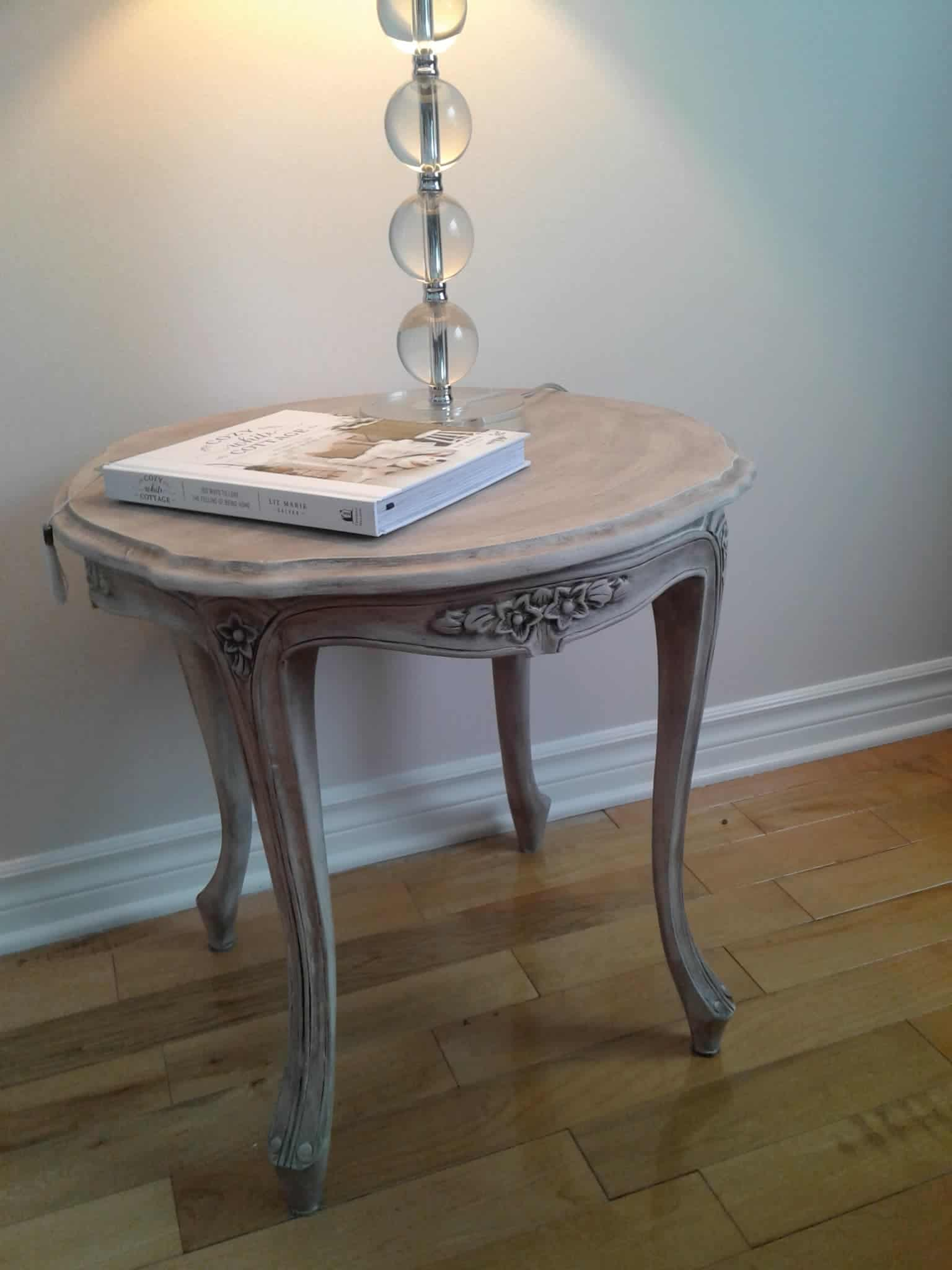 table d'appoint Shabby chic