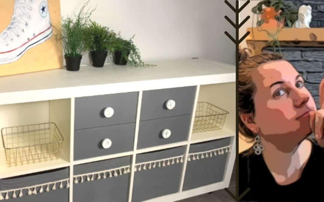 Ikea hacks avec les produits Colorantic et EcoTouch