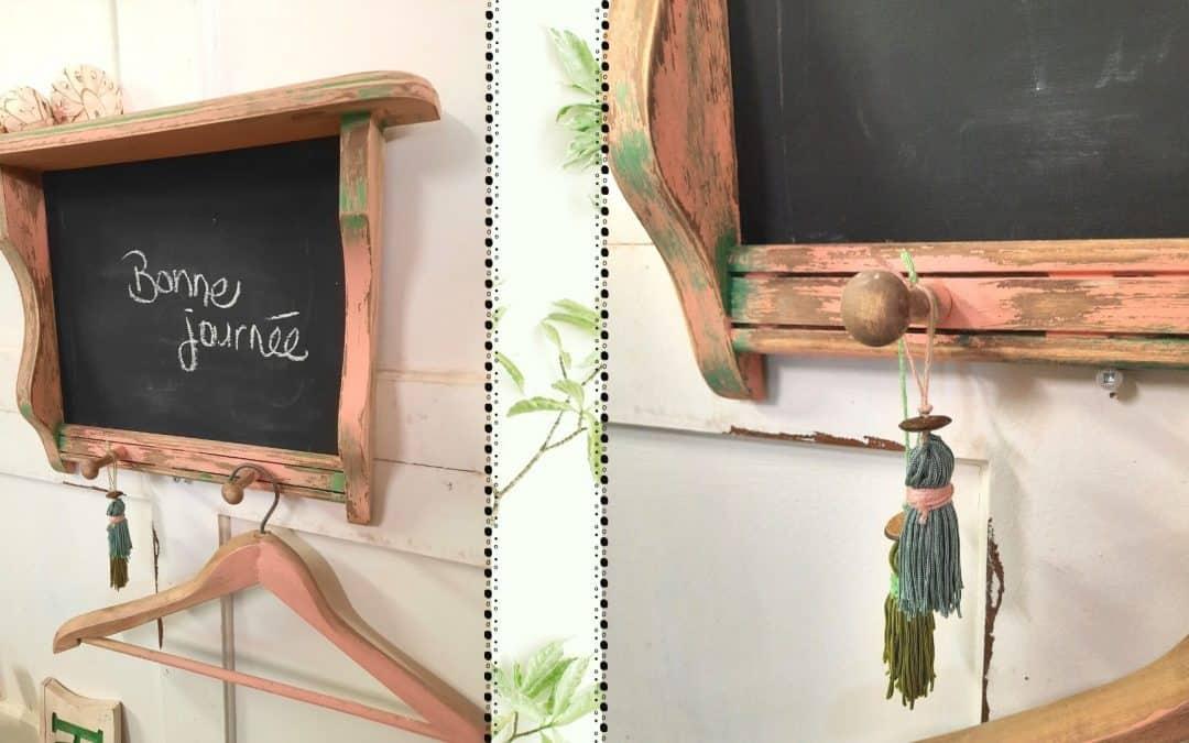 Création d'un tableau d'entrée rustique