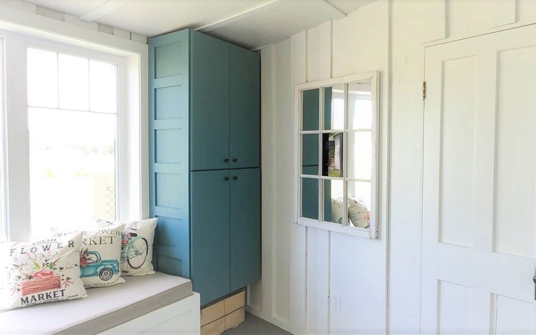 How to Reuse Old Cabinets