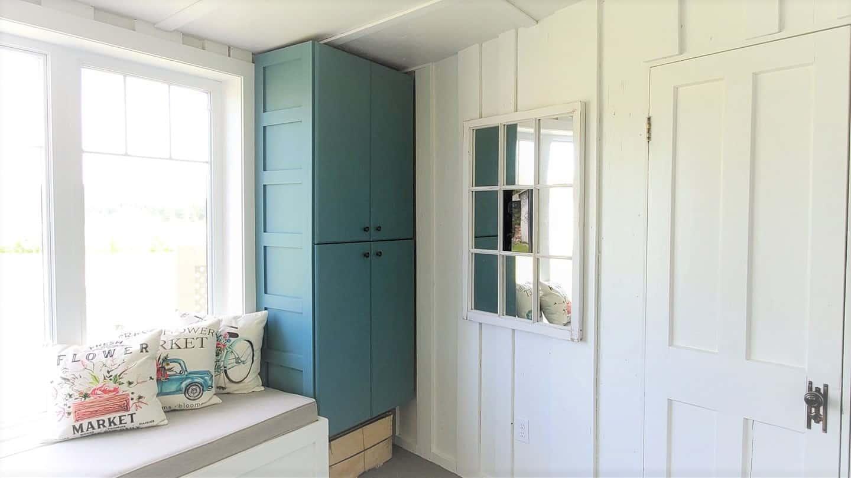 armoire avant