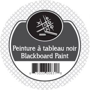 Peinture noire à tableau